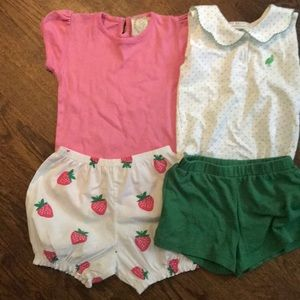 TBBC shorts and top sets